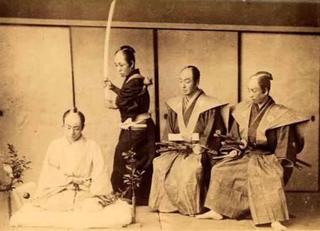 Ritual do seppuku, suicídio pela honra