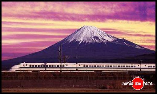 Shinkansen Monte Fuji