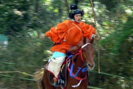 Yabusame, esporte medieval japonês