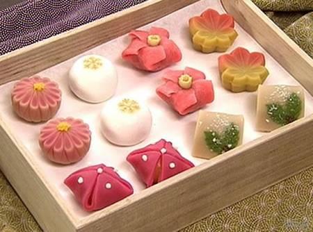 sakurá wagashi