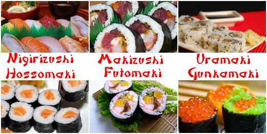 tipos de Sushi 3