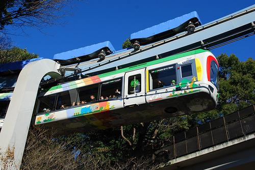 Ueno Zoo Monorail
