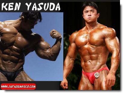 Fisiculturistas japoneses Ken Yasuda
