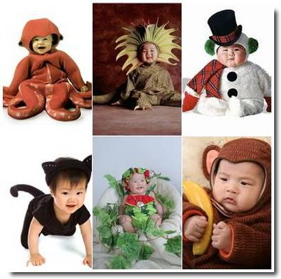 bebês-cosplay Japão