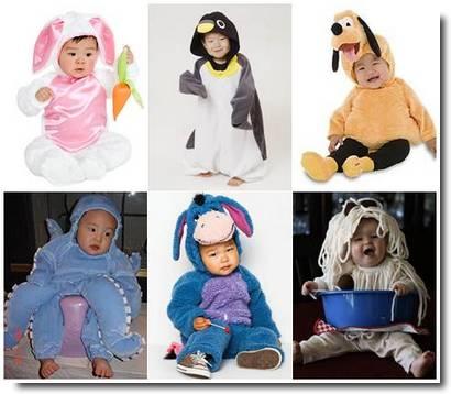 bebês japoneses cosplay