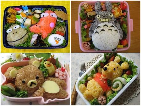 obento japonês criativo