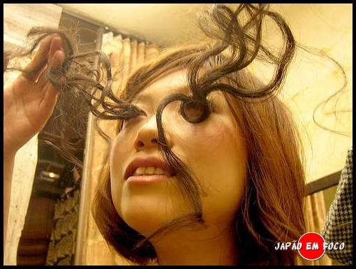 Cílios postiços no Japão