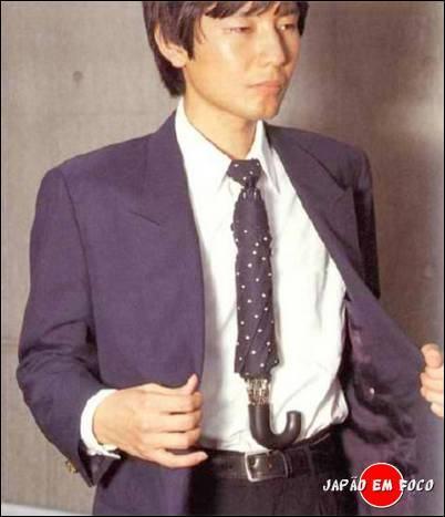 Chindogu-Umbrella-Tie