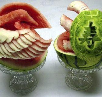 arte com melancias