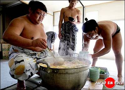 chanko nabe, comida de sumotori