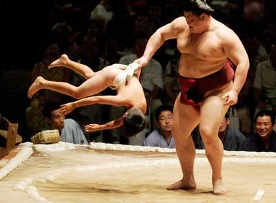 sumo Duelo de gigantes 1