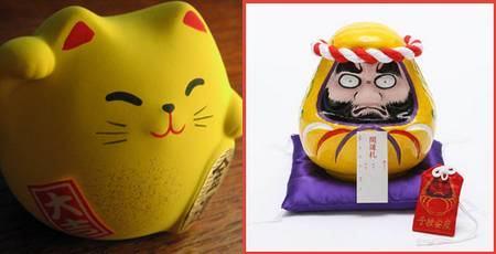Amuletos da sorte no Japão