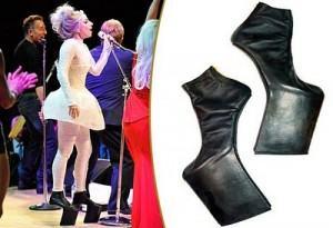 sapato japonês e Lady Gaga