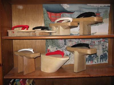 Sapatos geta tradicionais