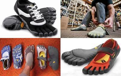 sapatos com dedos repartidos fotos