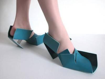 sapatos origami Japão