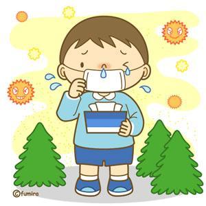 Alergia Kafunsho 花粉症