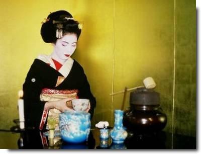 cerimônia do chá Chanoyu