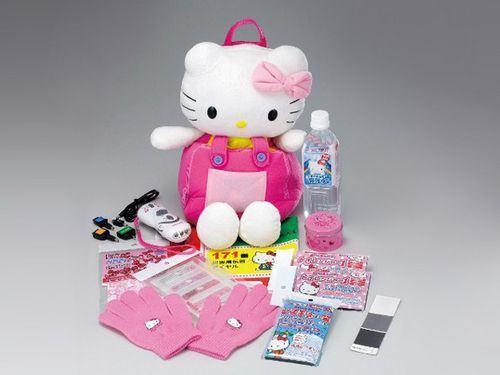 Kit de Sobrevivencia da Hello Kitty