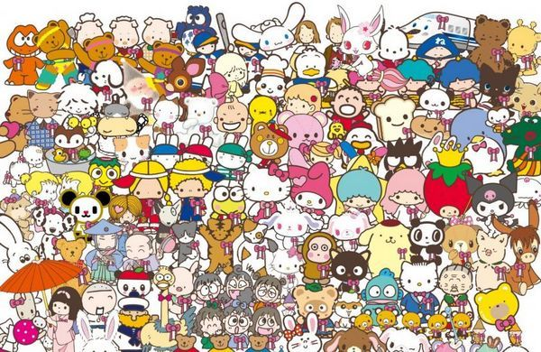 Sanrio personagens