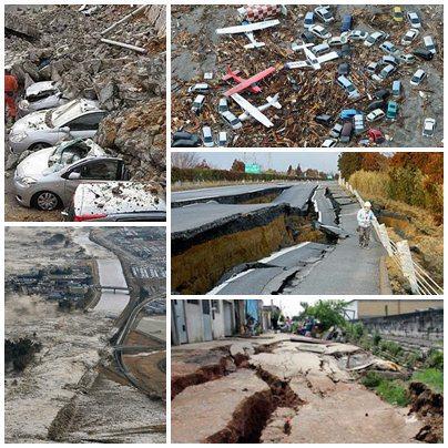 Tragédia Japão - Terremoto e Tsunami