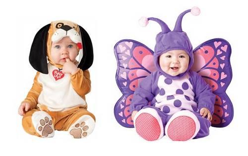 costume play bebês