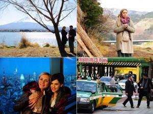 Para gravar o início da trama, uma parte do elenco viajou para o Japão no fim do ano passado. Eles passaram 15 dias no oriente.