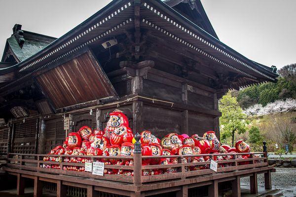 Templo Syorinzan Darumaji em Takasaki