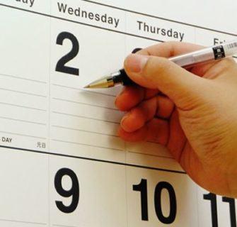 dias da semana em japonês 1