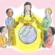 União das crianças do Japão