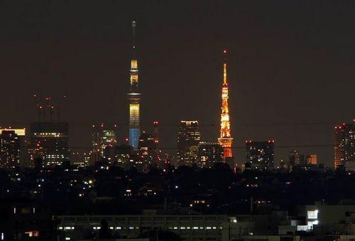 Tokyo sky Tree e Tokyo Tower