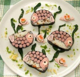Sushi Arte - A culinária japonesa e a arte