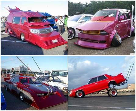Carros modificados de Bosozoku