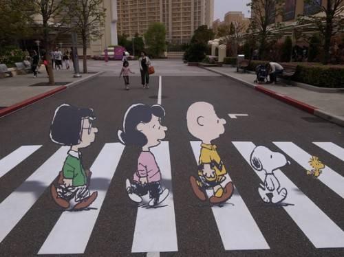 Arte de Rua 3D - Universal Studios Japan