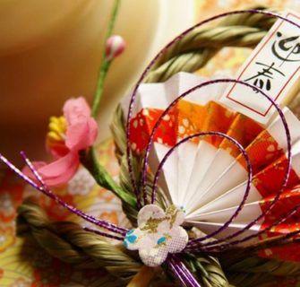 shimekazari e outros amuletos de ano novo japoneses