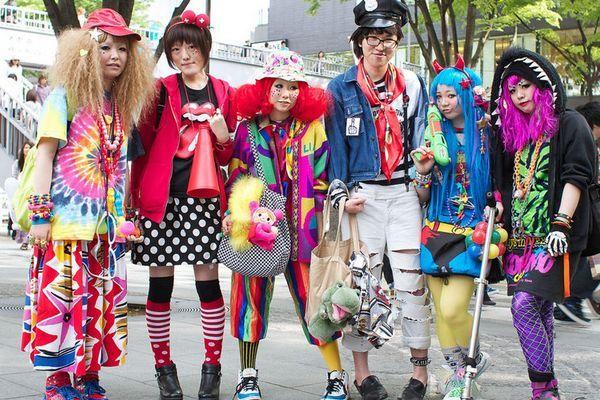 harajuku fashion style