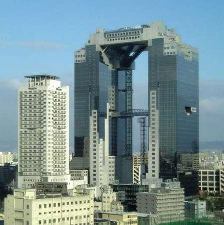 Resultado de imagem para Observatório Umeda Sky Building