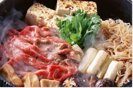 Comida Popular no Japão Sukiyaki