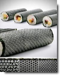 sushi com designer arrojado por Hiroyuki Umino