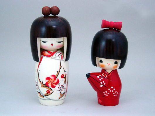 Curiosidades sobre as bonecas kokeshi