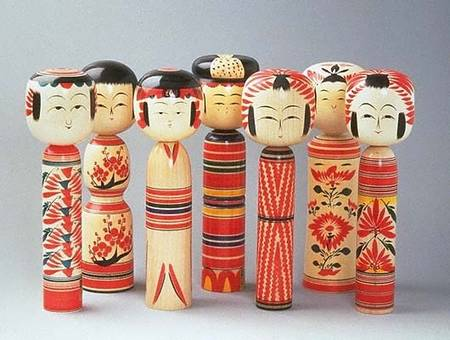 Origem das Kokeshi doll