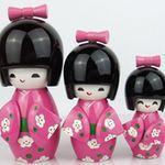 boneca kokeshi doll