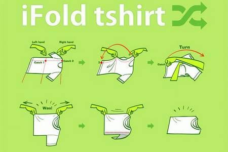 Como dobrar suas roupas com o método japonês