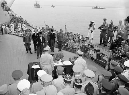 Rendição do Japão 15 de agosto de 1945