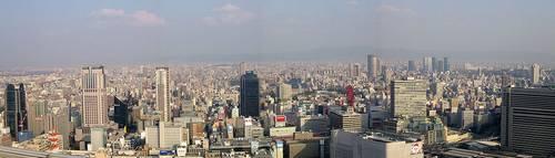 Vista Panarômica a partir do edifício Umeda Sky