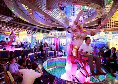 Danceteria robótica em Tóquio