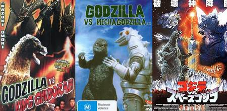 Filmes do Godzilla