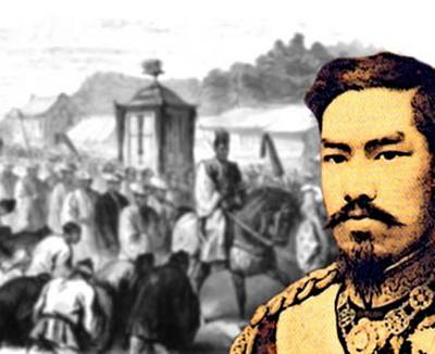 Revolucao Meiji pelo Imperador Meiji