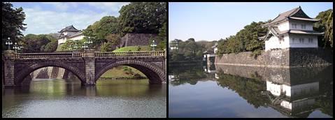 Kokyo Palácio Imperial em Tóquio