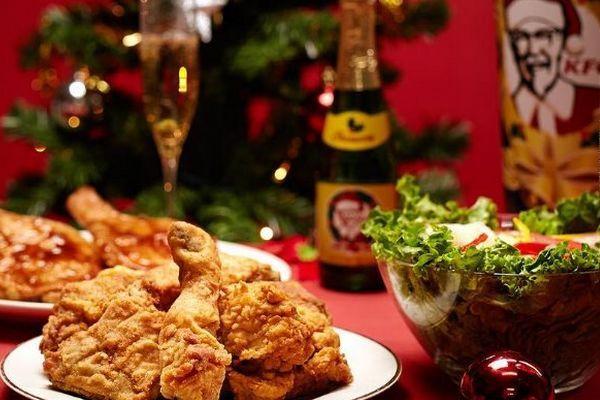 Natal e a tradição Kentucky